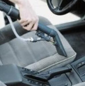 Reinigung von Autositzen