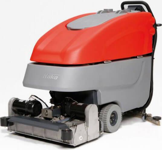 Schiebemaschine Bodenreinigung von Komag