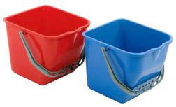 Putzeimer in rot und blau