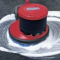 reinigung mit schaum Boden Teppich