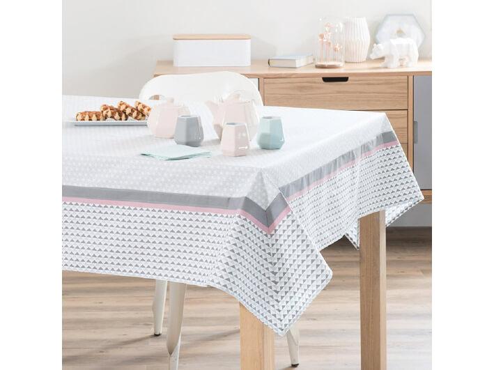 Stoff Tischdecke für das Frühstücksbuffet