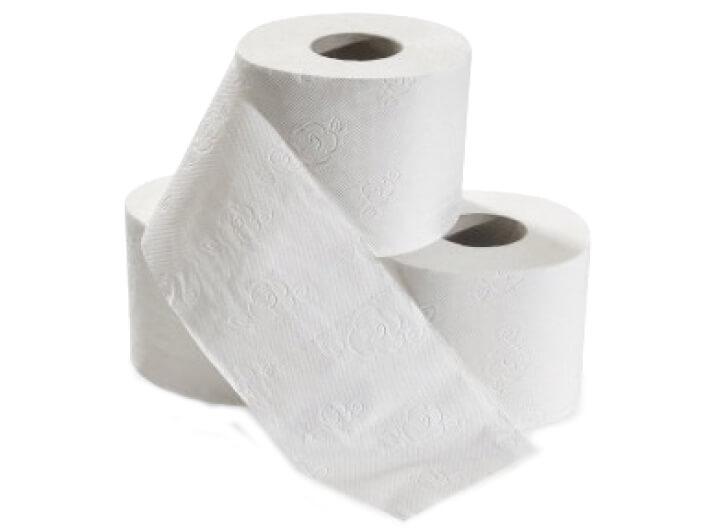 Toilettenpapier und Klopapier Gäste Hotel