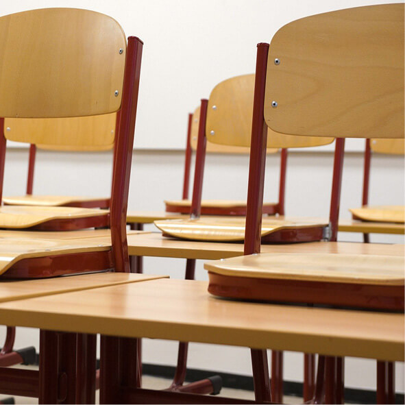 Reinigungstechnik für Schulwesen